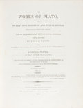 Books:Philosophy, Plato. The Works of Plato, viz. His Fifty-Five Dialogues, andTwelve Epistles, Translated from the Greek; Nine of the Dial...(Total: 5 Items)
