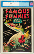 Golden Age (1938-1955):Science Fiction, Famous Funnies #212 (Eastern Color, 1954) CGC VF 8.0 Off-whitepages....