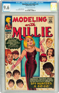 Silver Age (1956-1969):Romance, Modeling with Millie #51 (Marvel, 1966) CGC NM+ 9.6 Off-white to white pages....