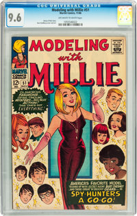 Modeling with Millie #51 (Marvel, 1966) CGC NM+ 9.6 Off-white to white pages