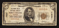 National Bank Notes:Colorado, Fort Collins, CO - $5 1929 Ty. 1 The Poudre Valley NB Ch. # 7837....