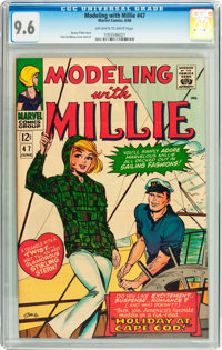 Modeling with Millie #47 (Marvel, 1966) CGC NM+ 9.6 Off-white to white pages