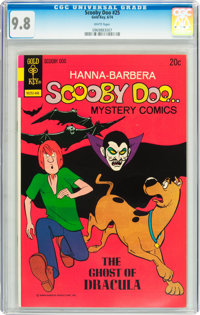 Scooby Doo #25 (Gold Key, 1974) CGC NM/MT 9.8 White pages