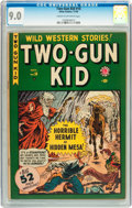 Golden Age (1938-1955):Western, Two-Gun Kid #10 (Marvel, 1949) CGC VF/NM 9.0 Cream to off-whitepages....