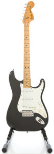 Musical Instruments:Electric Guitars, 1979 Fender Stratocaster USA Black Solid Body Electric Guitar,#S908938....
