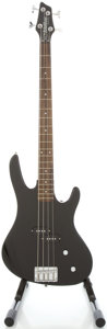 Musical Instruments:Bass Guitars, Washburn XB100 Black Electric Bass Guitar, #0C01101447....