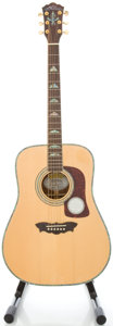 Musical Instruments:Acoustic Guitars, Washburn WD-52SW Natural Acoustic Guitar, #SI41200693....