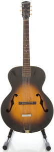 Musical Instruments:Acoustic Guitars, 1940s Kalamazoo Sunburst Archtop Acoustic Guitar....