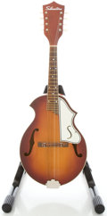 Musical Instruments:Banjos, Mandolins, & Ukes, Early 1960's Silvertone N-3 Cherry Sunburst Mandolin....