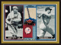 "Baseball Cards:Singles (1970-Now), 2002 Fleer ""Rival Factions"" Roger Maris Jersey Swatch Card. ..."