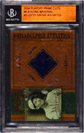 """Baseball Cards:Singles (1970-Now), 2004 Playoff """"Prime Cuts"""" Lefty Grove Cap Swatch Card - Limited Edition #3 of 25. ..."""