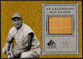 """Baseball Cards:Singles (1970-Now), 2001 Upper Deck """"SP Legendary Bat Cards"""" Jimmie Foxx Game-Used Bat Swatch Card...."""