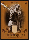 "Baseball Cards:Singles (1970-Now), 2003 Donruss Classics ""V.I.P. Membership"" Ty Cobb Bat Swatch Card...."