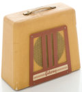 Musical Instruments:Amplifiers, PA, & Effects, Circa late 1940's Gibson BR-9 Tan Guitar Amplifier....