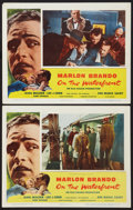 """Movie Posters:Academy Award Winners, On the Waterfront (Columbia, 1954). Lobby Cards (2) (11"""" X 14""""). Academy Award Winners.. ... (Total: 2 Item)"""