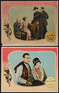 "Movie Posters:Western, Hills of Peril (Fox, 1927). Lobby Cards (2) (11"" X 14""). Western..... (Total: 2 Items)"