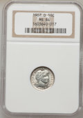 Barber Dimes: , 1907-O 10C MS64 NGC. NGC Census: (32/38). PCGS Population (42/30).Mintage: 5,058,000. Numismedia Wsl. Price for problem fr...