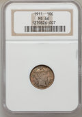 Barber Dimes: , 1911 10C MS66 NGC. NGC Census: (47/9). PCGS Population (70/12).Mintage: 18,870,544. Numismedia Wsl. Price for problem free...