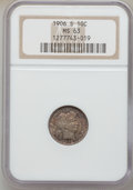 Barber Dimes, 1905-S 10C MS63 NGC. NGC Census: (34/40). PCGS Population (30/85).Mintage: 6,855,199. Numismedia Wsl. Price for problem fr...