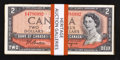 Canadian Currency: , A Varied Lot of $2 1954 Canadian Notes.. ... (Total: 30 notes)