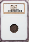Proof Barber Dimes: , 1906 10C PR64 NGC. NGC Census: (56/70). PCGS Population (51/56).Mintage: 675. Numismedia Wsl. Price for problem free NGC/P...