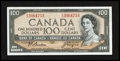 Canadian Currency: , BC-43a 1954 $100 . ...