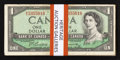 Canadian Currency: , A Large Assemblage of $1 Canadian Notes.. ... (Total: 35 notes)