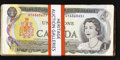 Canadian Currency: , Fifty Two Circulated $1 1973 Canadian Notes.. ... (Total: 52 notes)