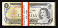 Canadian Currency: , A Large Lot of Fifty $1 1973 Canadian Notes.. ... (Total: 50 notes)