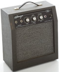 Musical Instruments:Amplifiers, PA, & Effects, 1960's Kalamazoo Model 2 Guitar Amplifier, Serial #37669....