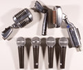 Musical Instruments:Amplifiers, PA, & Effects, Vintage Microphone Assorted Lot Shure and EV...