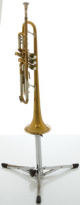 Musical Instruments:Horns & Wind Instruments, Circa 1940's Olds Super Olds Brass Trumpet, Serial #16707....