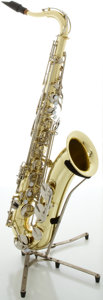 Musical Instruments:Horns & Wind Instruments, Yamaha YTS-23 Brass Tenor Saxophone, Serial #030795....