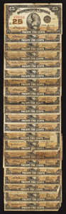 Canadian Currency: , A Large Assortment of Series 1923 Canadian Shinplasters.. ... (Total: 21 notes)