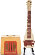 Musical Instruments:Lap Steel Guitars, 1950s Gibson BR9 Lap Steel Guitar and Amplifier Set.... (Total: 2Items)