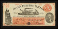 Obsoletes By State:Ohio, Marietta, OH- Ohio River Bank $20 June 4, 1838. ...