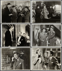 "Bulldog Drummond Strikes Back (United Artists, 1934). Keybook Photos (6) (7.75"" X 10""). Mystery. ... (Total: 6..."