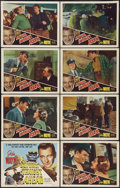 "Movie Posters:Action, California Straight Ahead (Film Classics, R-1948). Lobby Card Setof 8 (11"" X 14""). Action.. ... (Total: 8 Items)"