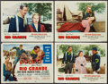 """Movie Posters:Western, Rio Grande (Republic, R-1956). Title Lobby Card and Lobby Cards (3) (11"""" X 14""""). Western.. ... (Total: 4 Items)"""