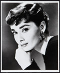 "Movie Posters:Romance, Audrey Hepburn in Sabrina (Paramount, 1954). Portrait Photo (8"" X 10""). Romance.. ..."