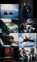 "Movie Posters:Action, Firefox (Warner Brothers, 1982). Lobby Card Set of 8 (11"" X 14"").Action.. ... (Total: 8 Items)"