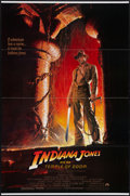 """Movie Posters:Adventure, Indiana Jones and the Temple of Doom (Paramount, 1984). One Sheet(27"""" X 41"""") Style A. Adventure.. ..."""
