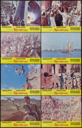"Movie Posters:Adventure, Khartoum (United Artists, 1966). Lobby Card Set of 8 (11"" X 14"").Adventure.. ... (Total: 8 Items)"