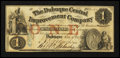 Obsoletes By State:Iowa, Dubuque, IA- Dubuque Central Improvement Company $1 Dec. 15, 1857....