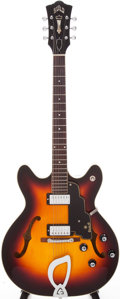 Musical Instruments:Electric Guitars, 1966 Guild Starfire IV Semi-Hollow Electric Guitar, Serial # EL752....