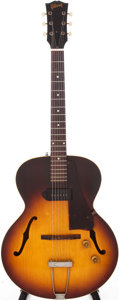 Musical Instruments:Electric Guitars, 1958 Gibson ES-125T Semi-Hollow Electric Guitar, Serial #T595017....