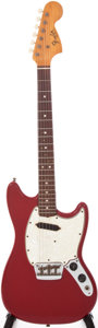 Musical Instruments:Electric Guitars, 1966 Fender Musicmaster II Dakota Red Electric Guitar, Serial #193165....