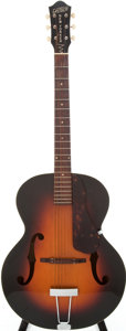 Musical Instruments:Acoustic Guitars, 1956 Gretsch New Yorker Sunburst Archtop Acoustic Guitar, Serial #17314....