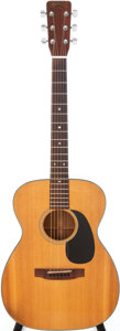 Musical Instruments:Acoustic Guitars, 1967 Martin 00-18 Natural Acoustic Guitar, Serial # 223517....