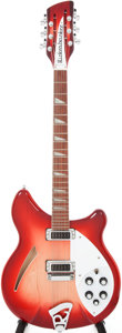Musical Instruments:Electric Guitars, 2005 Rickenbacker 360-12 Fireglo Semi-Hollow Electric Guitar,Serial # 0517821. ...